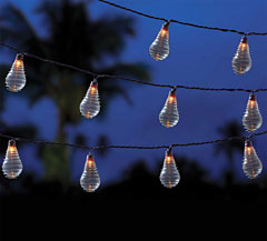 Hardwired Outdoor String Lights : Edison Style Wired Wraped Patio String Light - 10 Count - Shop Now